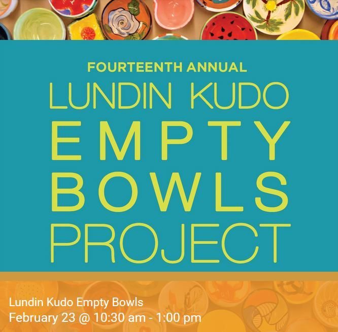 14th Annual Lundin Kudo Empty Bowls Project at the Woman's Club of Stuart
