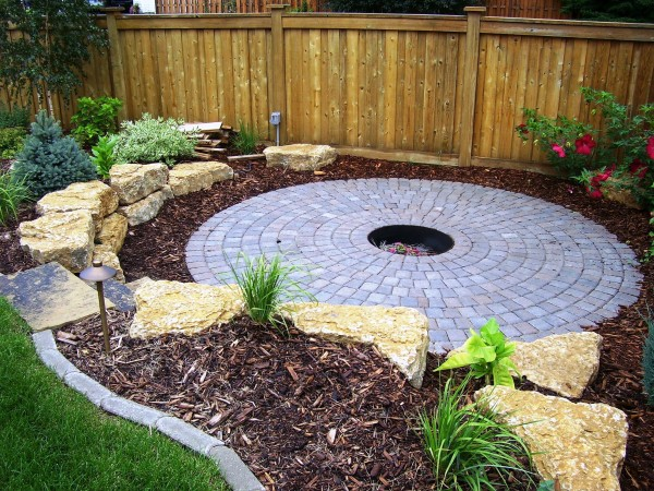 Paver Patio, Fire Pit and Complete Landscape