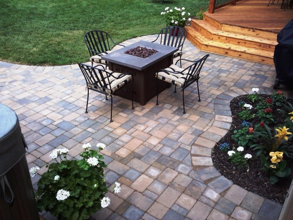 Paver Patio, Deck and Complete Landscape