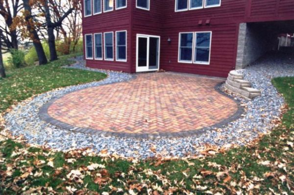 Paver Patio, Block Retaining Wall and Complete Landscape