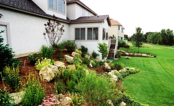 Boulder Outcroppings and Complete Landscape