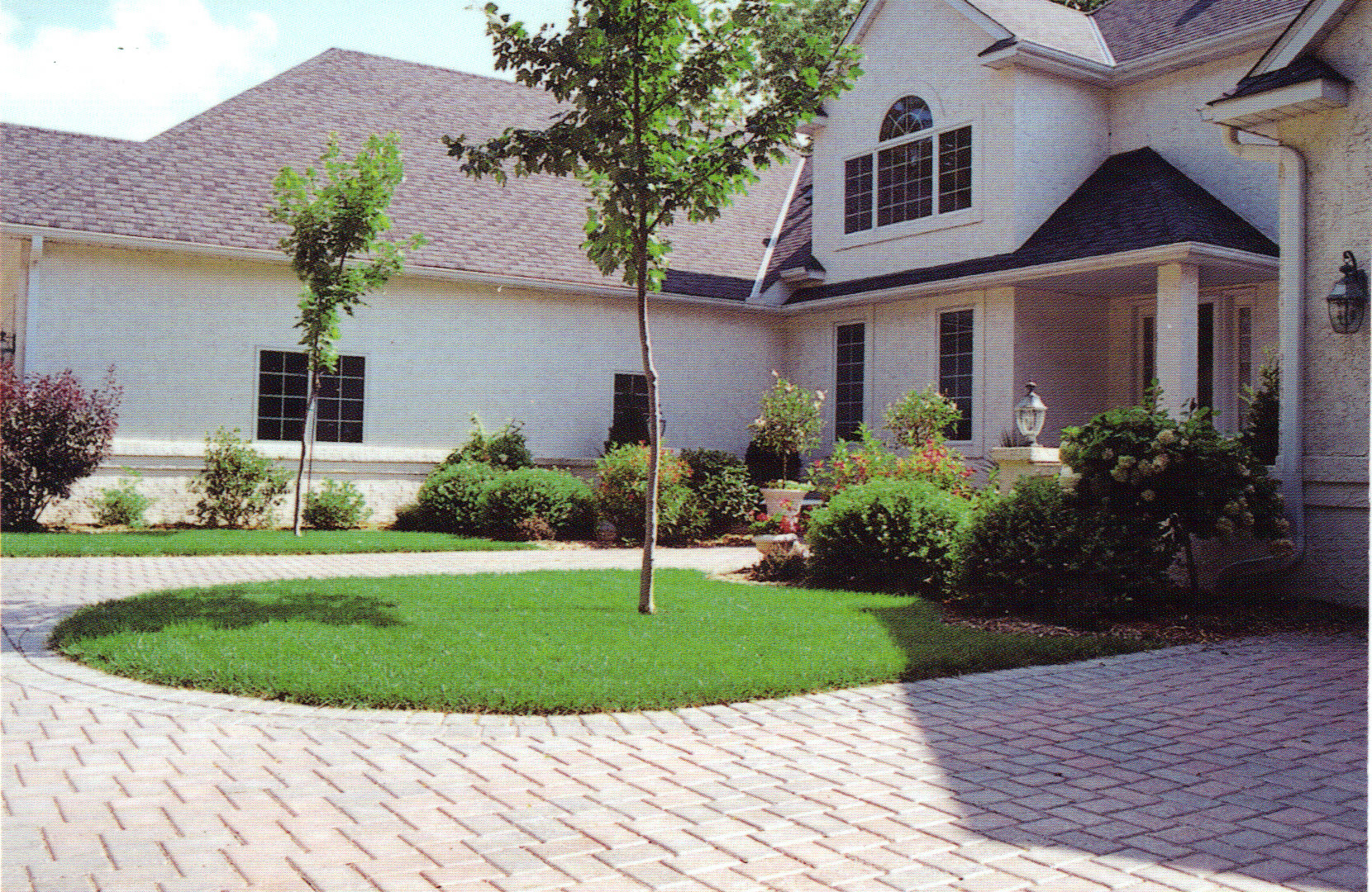 Paver Driveway and Complete Landscape