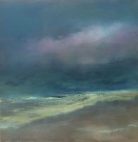 "Moonless - 24"" x 24"", 2016"