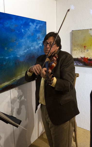 The vertuoso violinest Robert Brouseau
