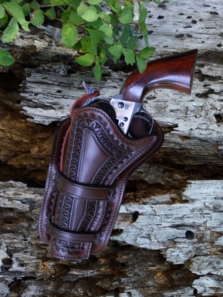 Custom Hand Carved Holster | Purdy Gear - Shop Now!