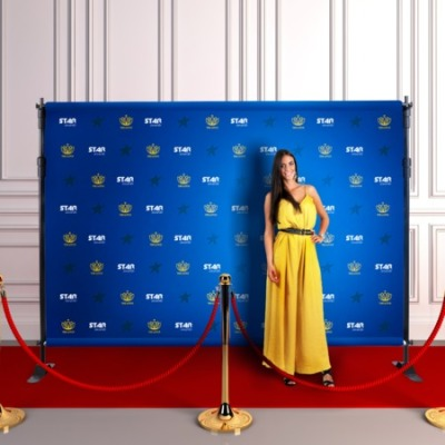 Step and Repeat Backdrop