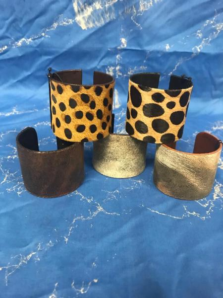 Animal Pattern Wristbands
