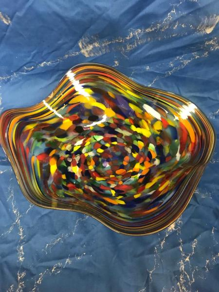 Colorful Large Bowl