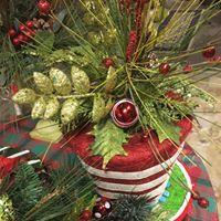 Christmas Hat Arrangement