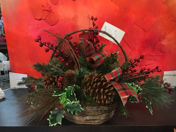 Christmas Silk Arrangement