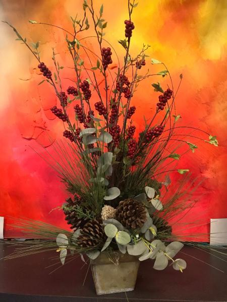 Wild Christmas Arrangement