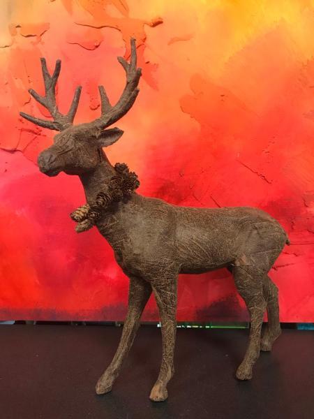 Leather Christmas Deer