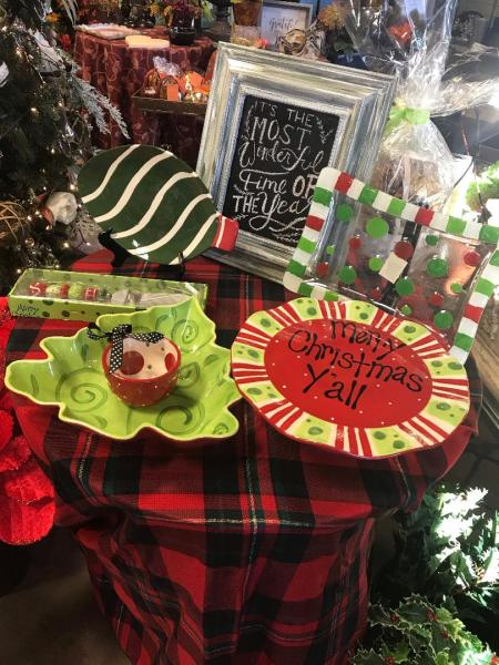 Christmas Plate Decor