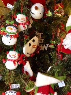 Frosty Ornaments