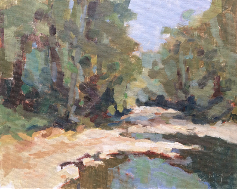 PIPE CREEK     8x10     Oil