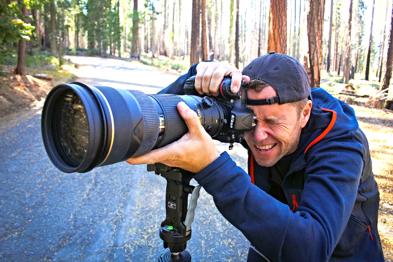 Long lens for wildlife