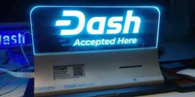 Dash in der Schweiz Accepted Here