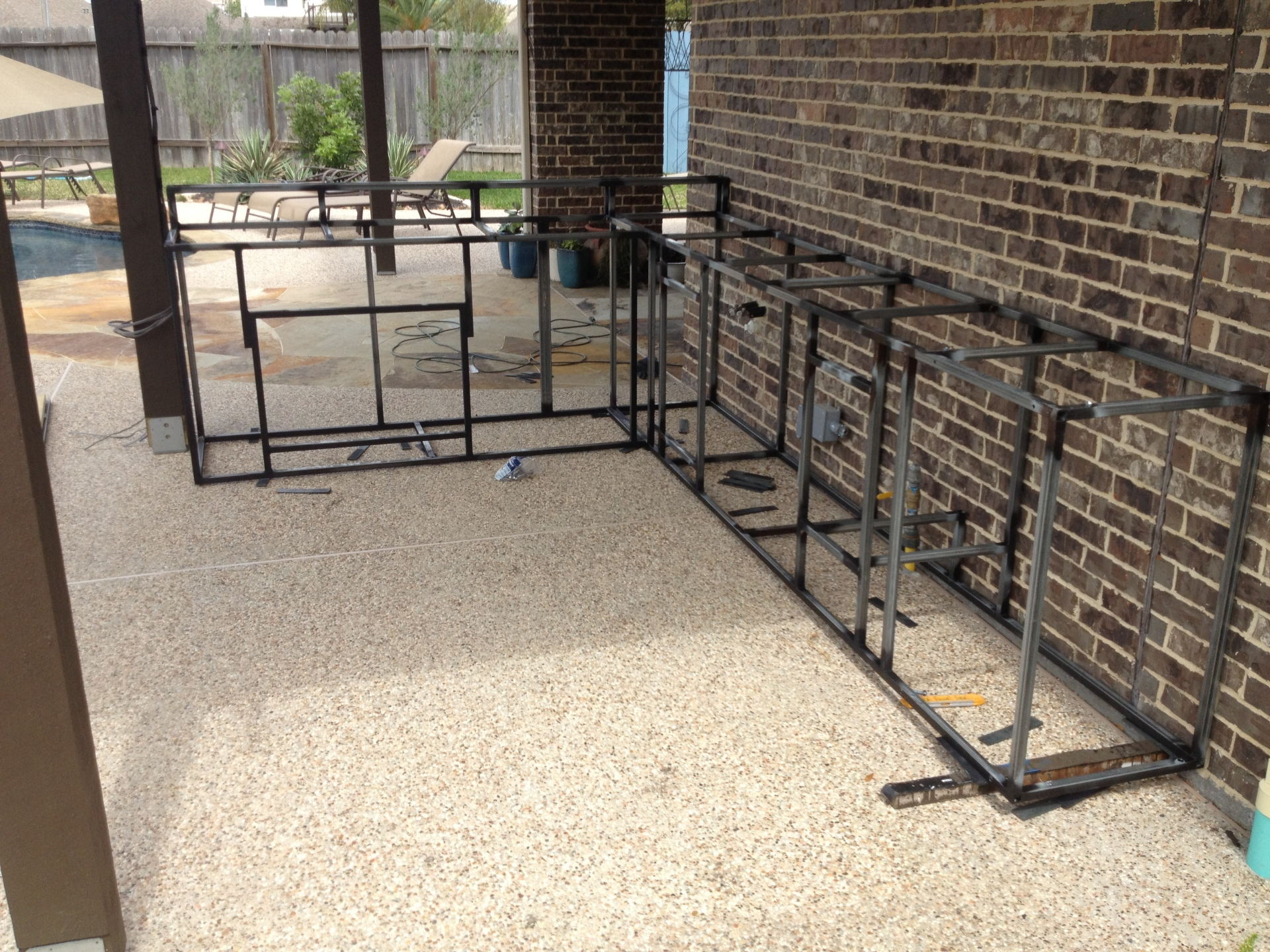 Welded Kitchen Frame