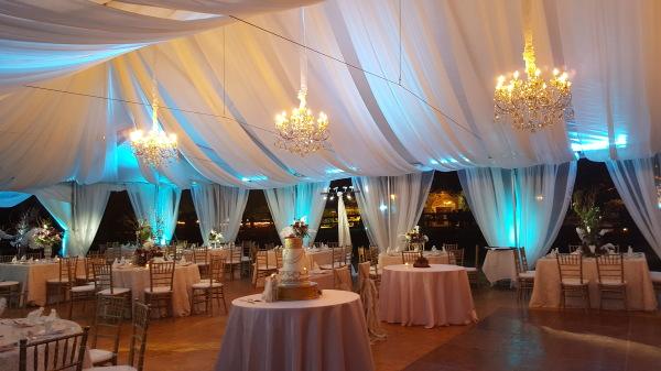 Decorative Tent Lighting