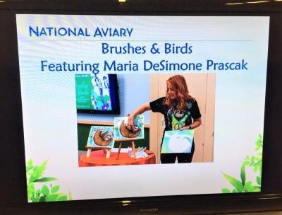 national aviary, art classes, painting, sloth, sloth art, art in pittsburgh, pittsburgh artist,