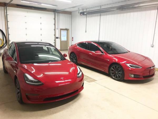 Tesla Model 3 and Model S