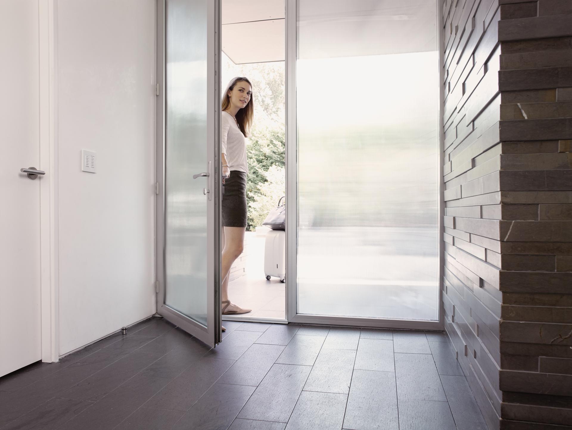 intercom, doorbell, keyless entry
