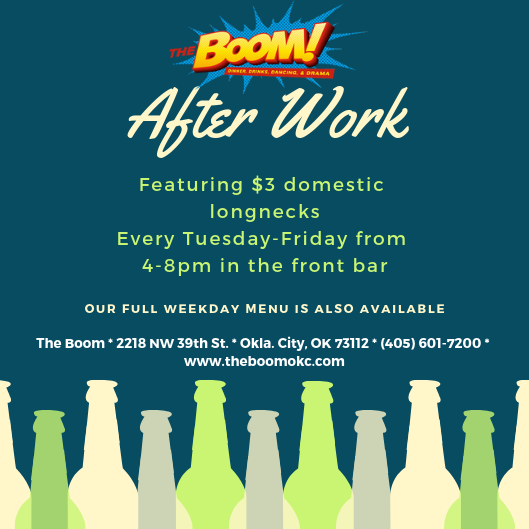 After Work At The Boom!