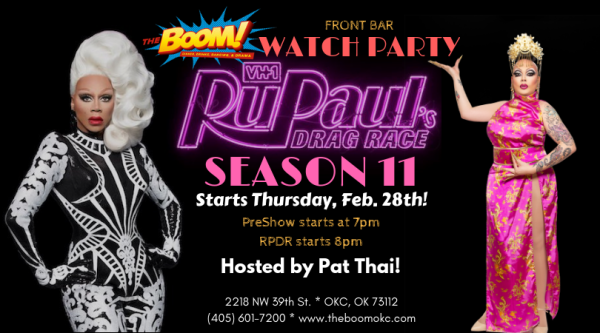 RuPaul's Drag Race Watch Party!