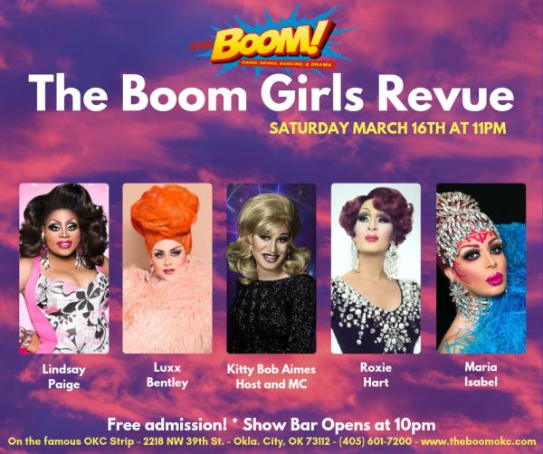 The Boom Girls Revue