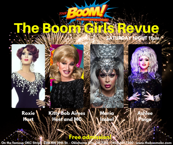 The Boom Girls Revue