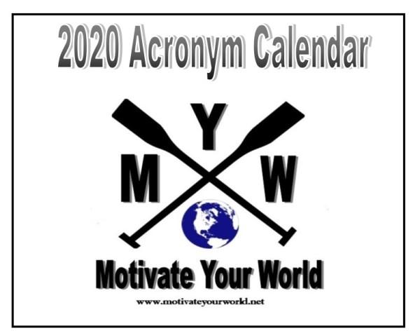 2020 Block calendar