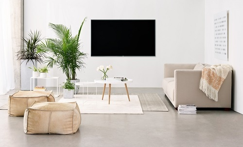 tv installation on wall with no wires hidden