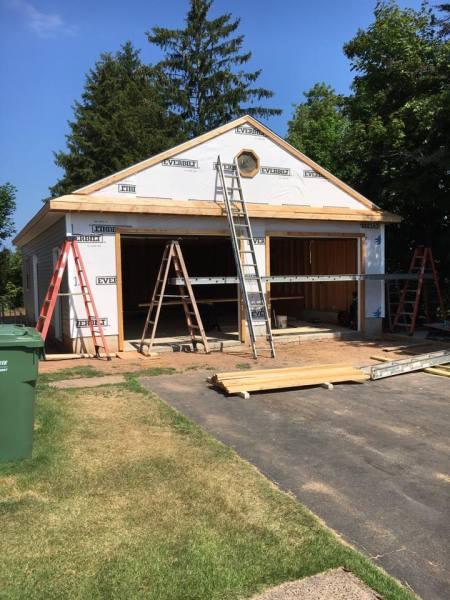 Middletown garage builder
