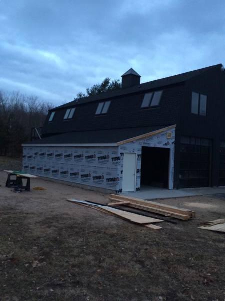 Middletown barn addition
