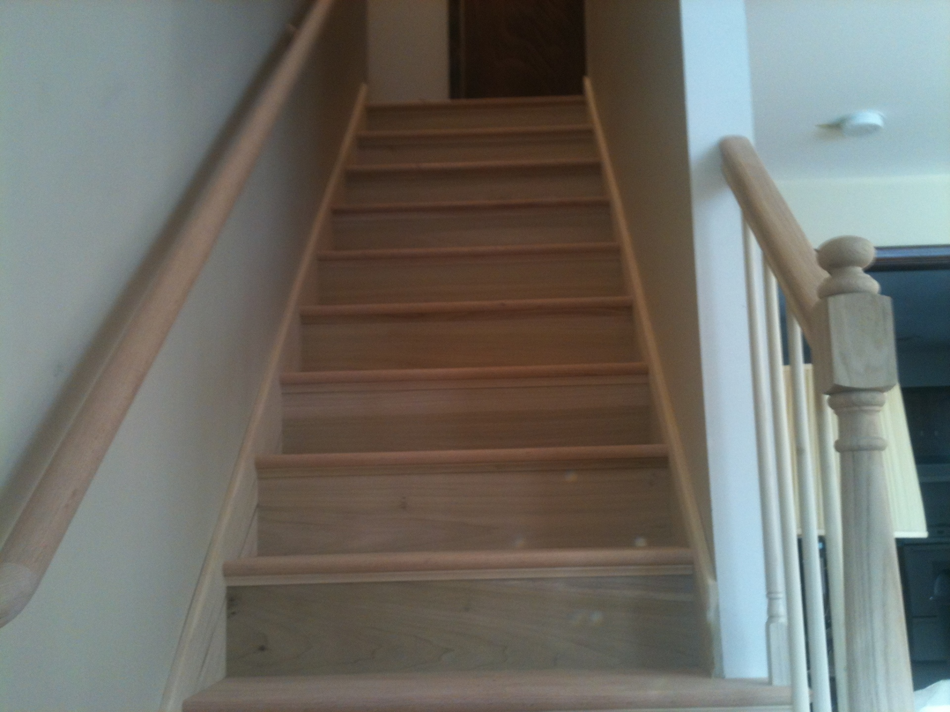 Completed new stair case