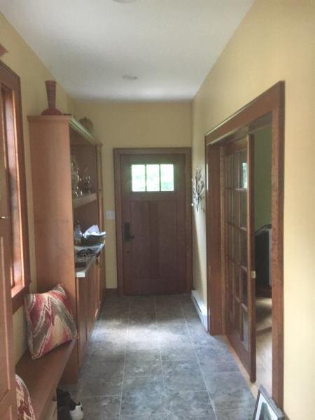 Mud room addition
