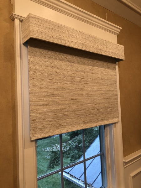 YES!!! CUSTOM FABRIC ROLLER SHADES