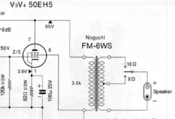 FINEMET FM-6WS 50EH5 SET, Single Ended Amplifier