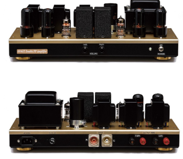 FINEMET FM-10P Triode Strapped 6V6GT Push-Pull Amplifier