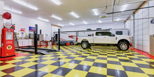 man cave garage