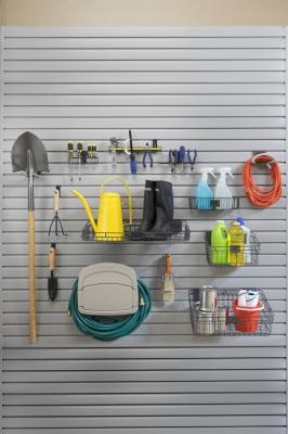 slatwall storage system