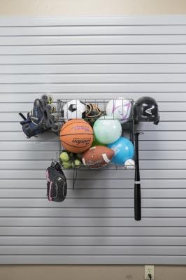 sports storage slatwall