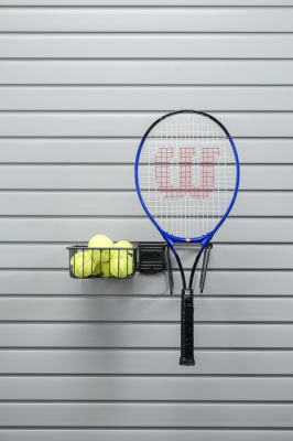 slatwall tennis storage