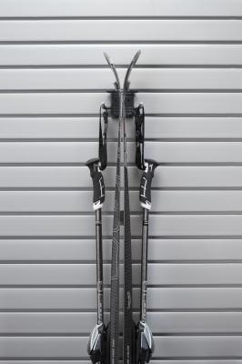 slatwall ski storage