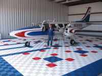 aircraft hangar flooring
