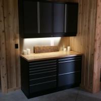 garage cabinet system