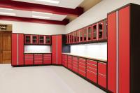 steel garage cabinets