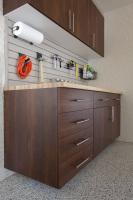 wood cabinets garage