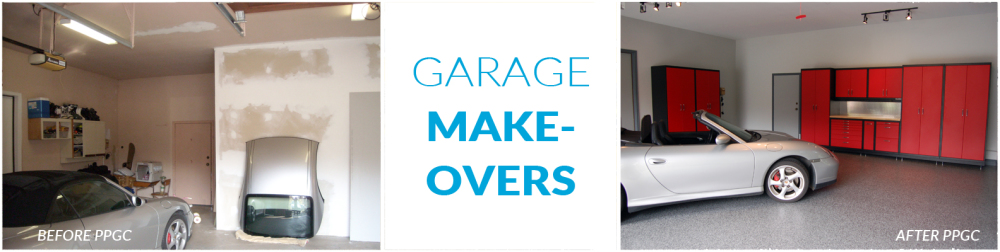 before and after garage makeovers