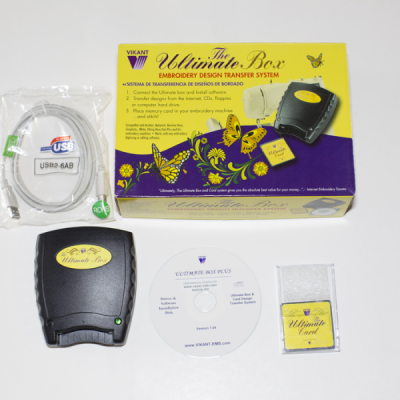 Vikant Embroidery Designs Converter Box And Card